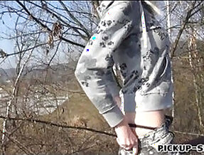 Skating girl lenny elleny anal fucked and facial for money