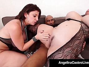 Cuban bbw angelina castro and king noir make sara jay submit