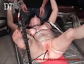 20yo Big Titted Slave Electro