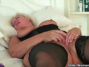 British grannies Alisha Rydes and Sandie going solo
