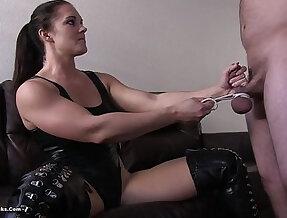 ball busting femdom devastation