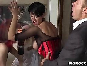 Wild anal foursome Sweet Cat, Barbra Sweet, Emylia Argan , Rocco Siffredi