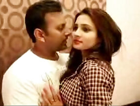 One Night Stand Desi college girl kissing