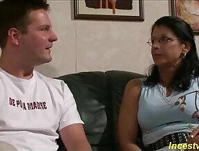 German Son fucks his beauty mommy