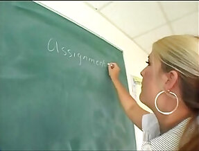Chubby Teacher Fucks Student WHO IS SHE?
