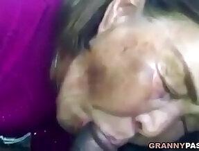 Asian Sucks Black Cock In The Car