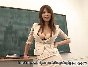 Hot busty Ai Kurosawa dirty with big round natural tits!