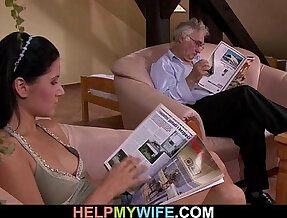 Hubby calls guy to fuck wife