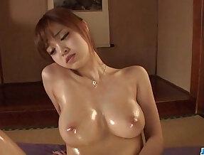 Smashing oral porn on cam with adorable Mikuru Shiina