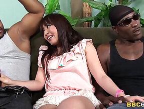 Marica hase anal fun with huge mamba black monster cocks