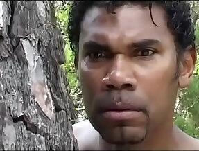 Black servant prepares an ambush to a white chick fuck