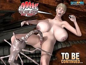 3D Comic Spermaliens. Episodes