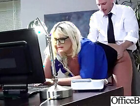 Office sex with sexy Busty Girl julie cash Hard Style Banged in office clip 18