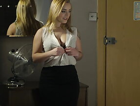 Thick French beauty gets ass-blasted