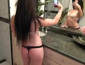 Masturbating video for her boyfriend